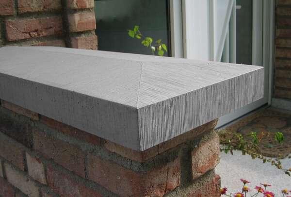 mauerabdeckungen pfeilerabdeckungen beton niessen. Black Bedroom Furniture Sets. Home Design Ideas
