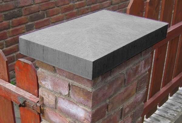 Mauerabdeckungen Pfeilerabdeckungen Beton Niessen