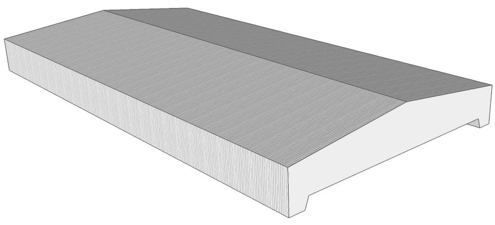 mauerabdeckung mad satteldachform niessen. Black Bedroom Furniture Sets. Home Design Ideas
