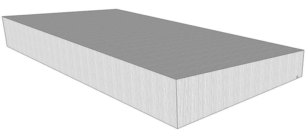 mauerabdeckung map pultdachform niessen. Black Bedroom Furniture Sets. Home Design Ideas