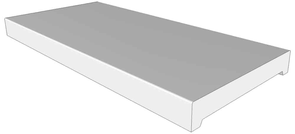 mauerabdeckung mfd flachdachform niessen. Black Bedroom Furniture Sets. Home Design Ideas