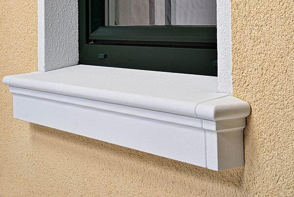 Schalen-Fensterbank SLB 100 Niessen _ groß