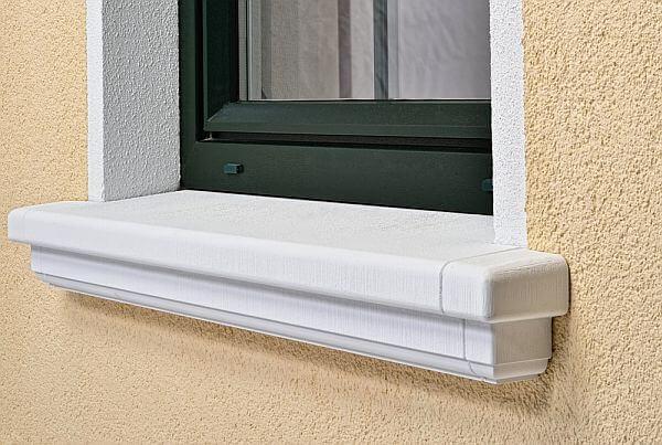 Schalen-Fensterbank SLB 200 Niessen _ groß