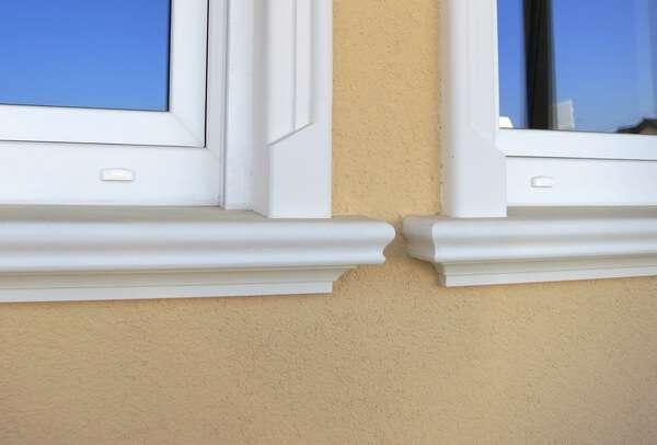 Schöne Außenfensterbänke SLB 570 mit glatter Oberfläche