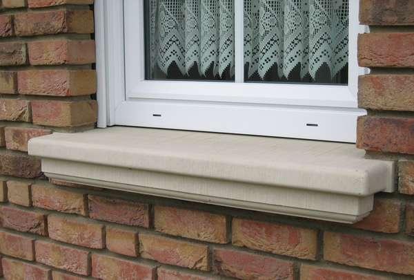 Fensterbank außen beton  Fensterbank | Fensterbänke | Modellübersicht | Niessen