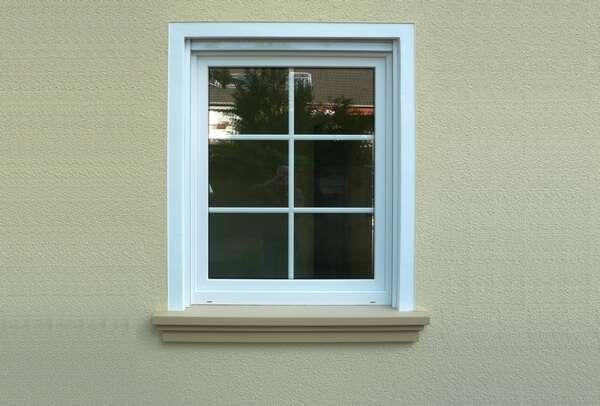 Moderne Fensterbank SLB 520 aus Beton - Ausladung 85 mm
