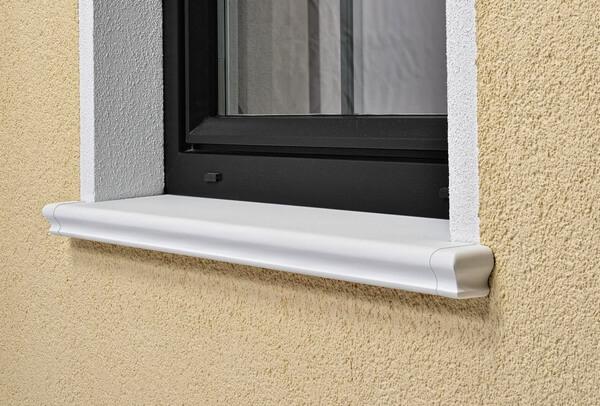 Fensterbänke außen – Schale