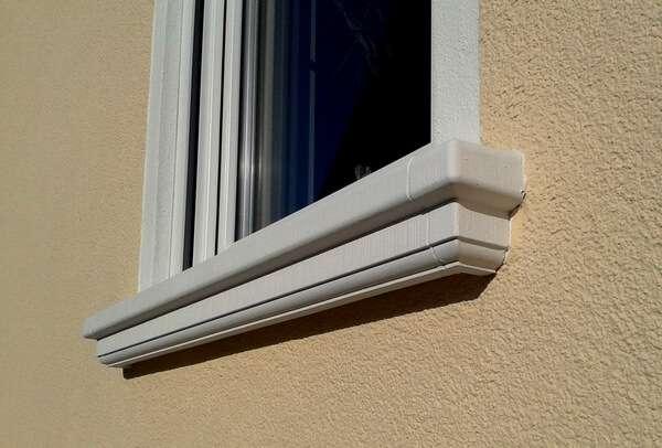 Fensterbrett SLB 200 für außen - Ausladung 95 mm