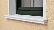 Fensterbrett SLB 590 als schöne Alternative zur Aluminium - Fensterbank
