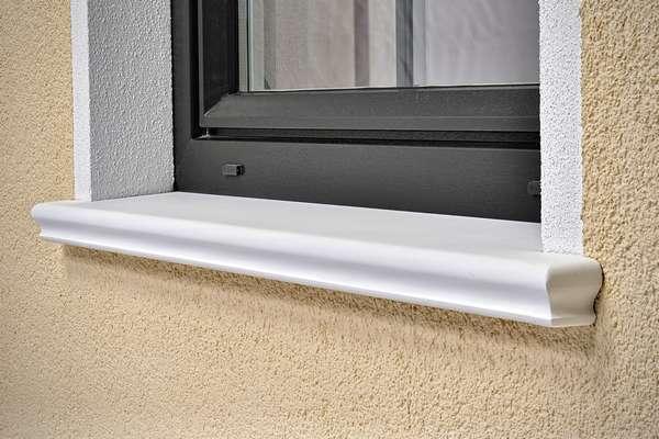 Fensterbrett SLB 590 - schöne Alternative zu Aluminium, Marmor, Granit, Naturstein