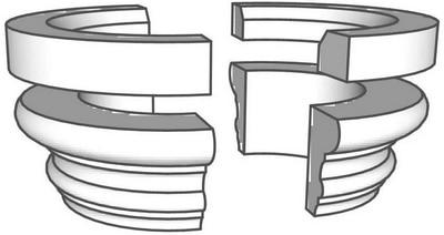 Kapitell K2 mit Ring