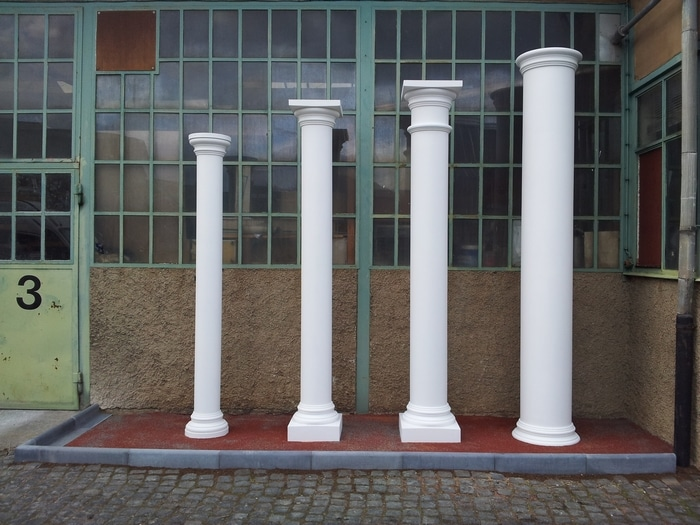 Betonsäulen auf Maß