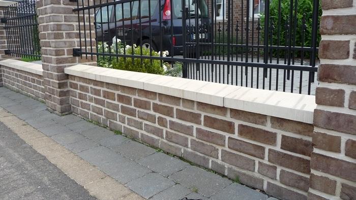 Mauerabdeckungen Beton Satteldach