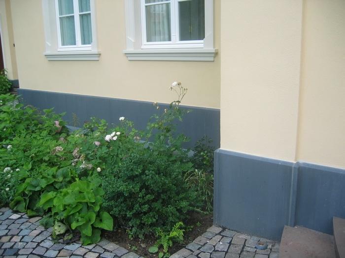 Sockelplatten aus Beton